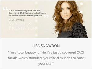 lisa snowdon caci facials